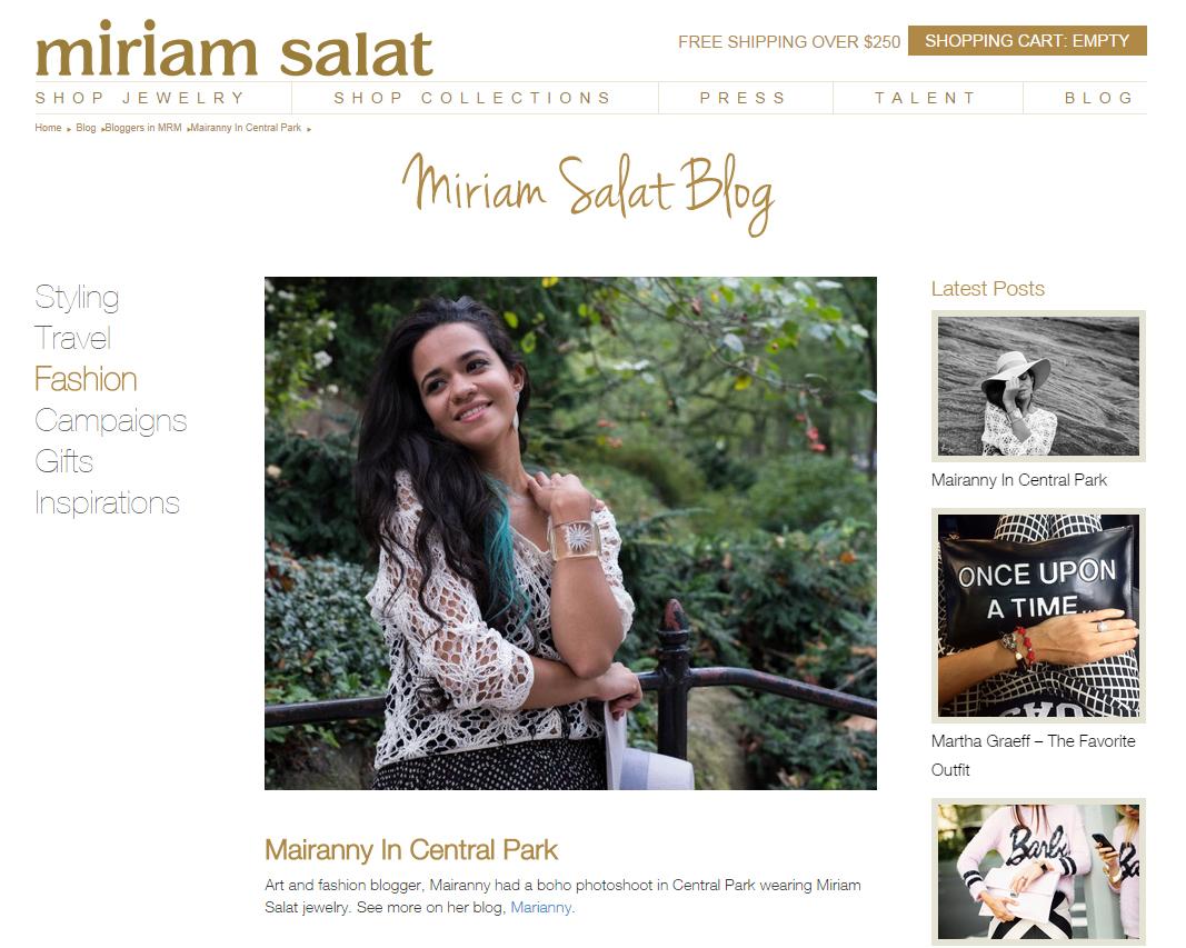 Miriam Salat Blog