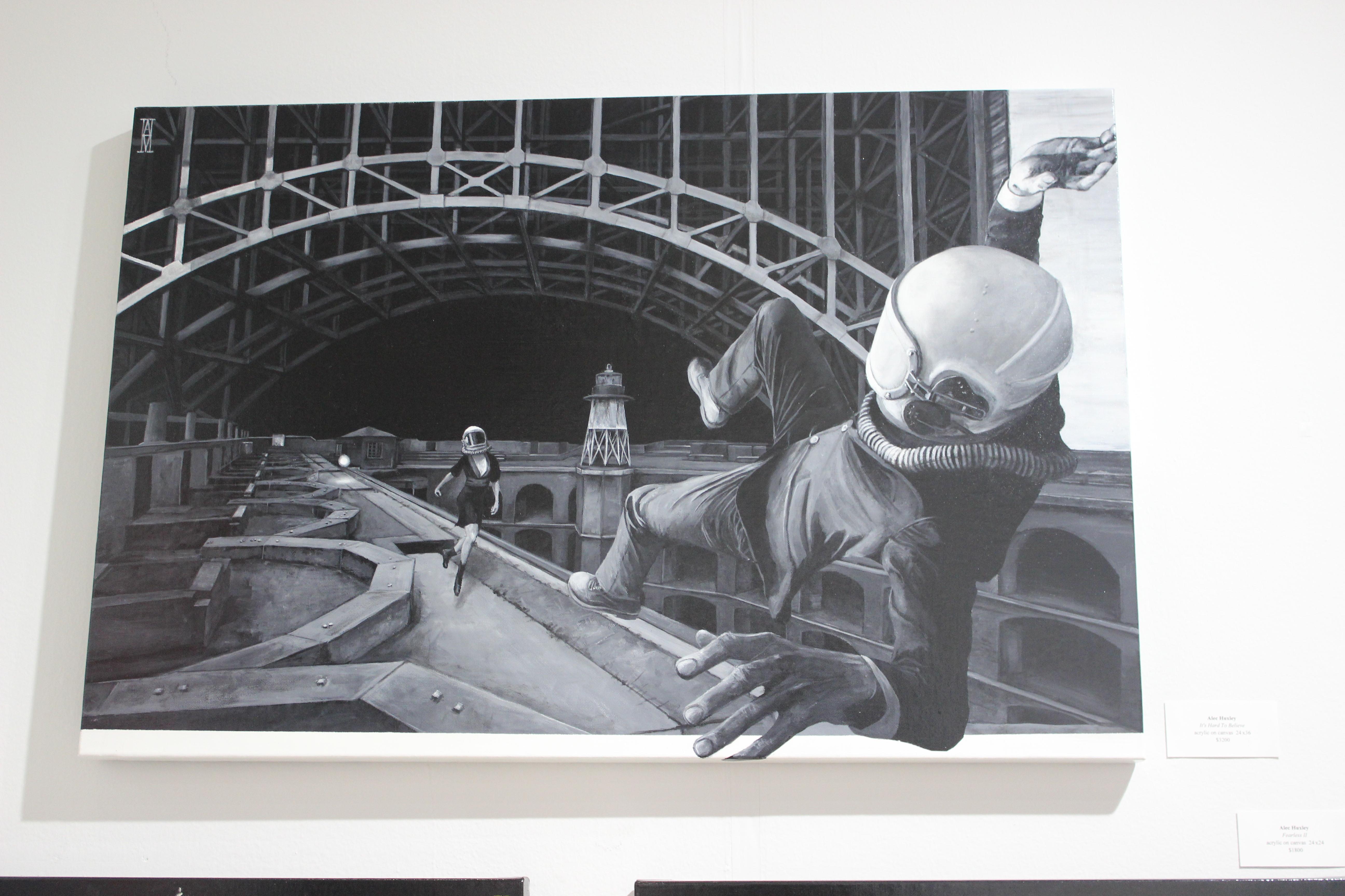 Alec Huxley at Gauntlet Gallery  Photo Mairanny Batista