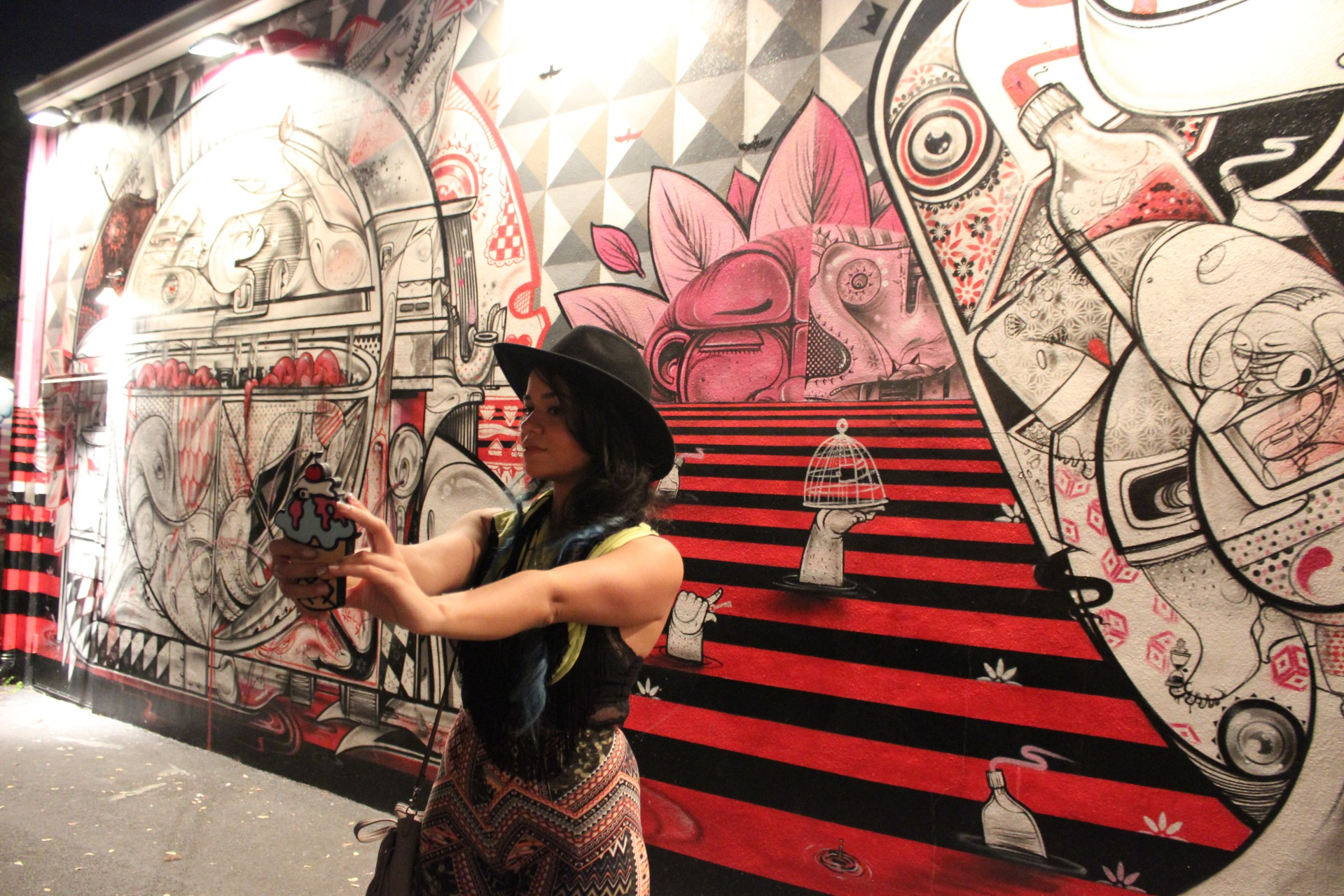 #Selfie at Wynwood Wall Art Miami  photo by JMarcio Batista