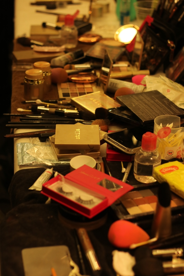Backstage - Makeup Stila Cosmetics | photo by Mairanny Batista